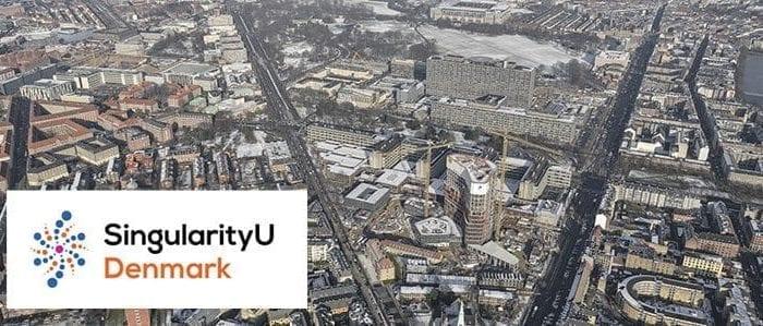 Copenhagen Science City seen from above