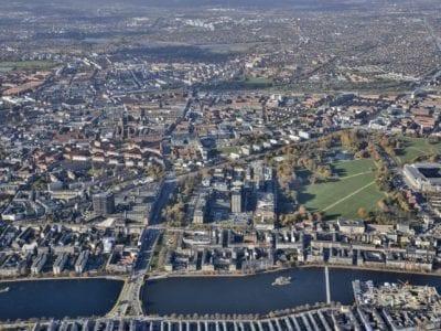Aerial Photograph, Copenhagen Science City