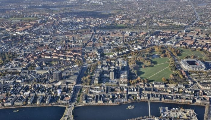 Aerial Photograph, Copenhagen Science City
