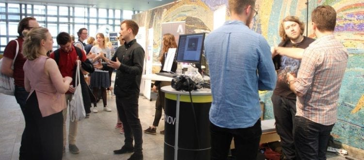 Fierce competition to hire IT-students at annual career fair in Copenhagen Science City