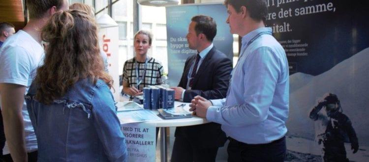 DIKU karrieremesse 2017 var en velbesøgt affære. Både studerende og virksomheder var valfartet til Copenhagen Science city.