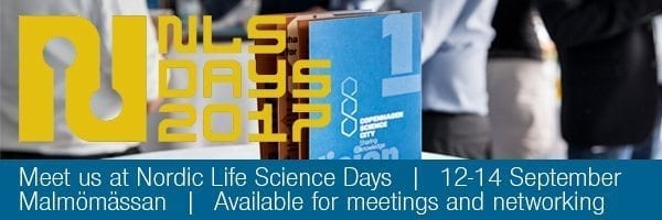 Meet the Copenhagen Science City team at Nordic Life Science Days in Malmø, Septmeber 12.-14 september.
