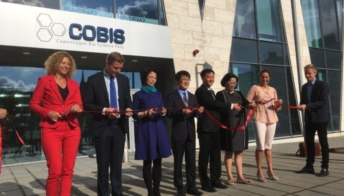 Chinese Danish Organic Food Centre opening ceremony