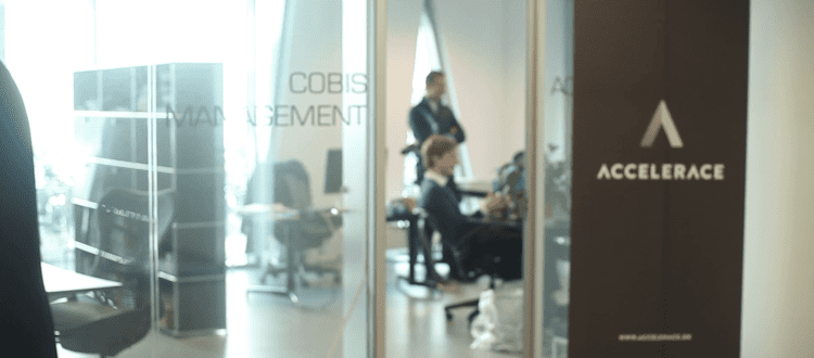 Accelerace office at COBIS