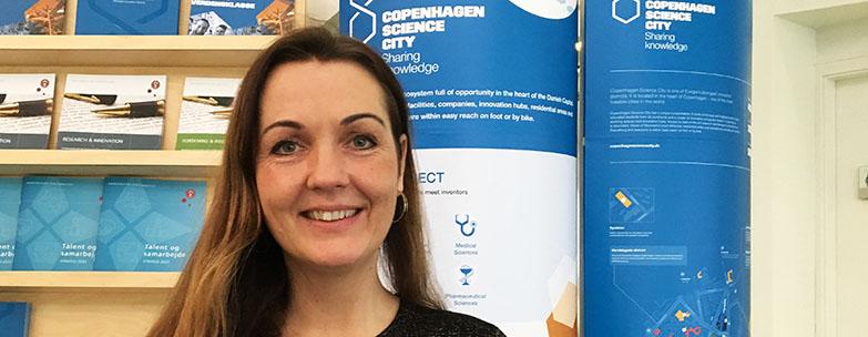 Tina Bergløv Kjær is a new staff member in Copenhagen Science City
