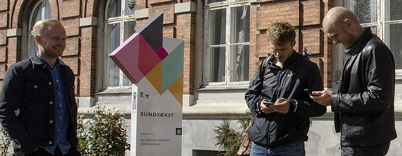 The student-start-up community SUND Hub is proving itself as a funding magnet. Photo, Mikal Schlosser