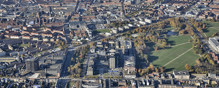 "Copenhagen Science City is an 800 metre radius innovation district in the heart of the Danish capital. Now it has been afforded a central role on the city's 12-year strategy ""City of Copenhagen, Municipal Plan 2019 – A globally responsible city""."