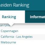 Copenhagen Science City-partner University of Copenhagen has jumped from a global 31st place to 27th in the world on the Leiden ranking 2021 list